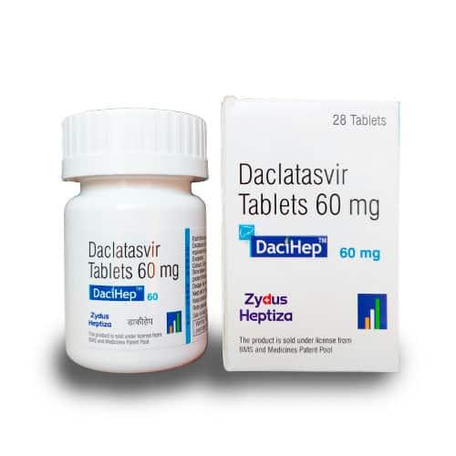 DaciHep 60, 28 tab. | ZYDUS CADILA