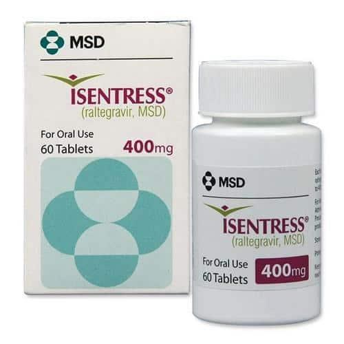 Isentress 60 tab. | MSD