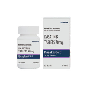 Dasacast-70, 60 tab, Дазатиниб 70 мг | APRAZER