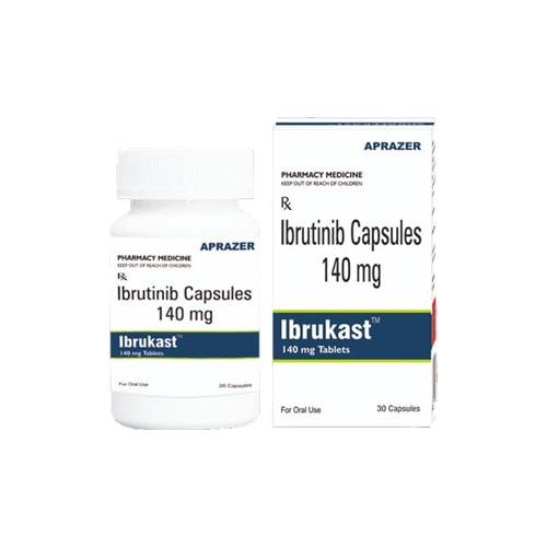 Ibrukast, 30 tab, Ибрутиниб 140 мг | APRAZER