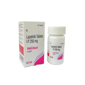 Herduo 150 tab, Лапатиниб 250 мг | NATCO