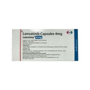 Lenvima-4, 10 tab, Ленватиниб 4 мг | EISAI