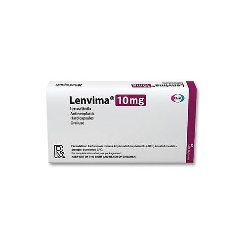 Lenvima-10, 10 tab, Ленватиниб 10 мг | EISAI