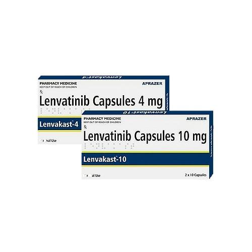 Lenvakast-4, 10 tab, Ленватиниб 4 мг   APRAZER