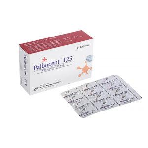 Palbocent, 21 tab, Палбоциклиб 125 мг | INCEPTA