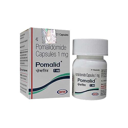 Pomalid-1, 21 tab, Помалидомид 1 мг   NATCO